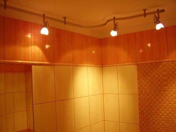 Koupelna osvětlení