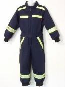 Dětská hasičská kombinéza