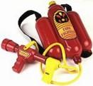 Dětský zádový hasicí přístroj - stříkací - hračka