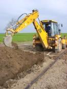 Zemní práce, doprava, služby pro zemědělce