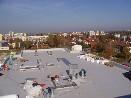Izolace plochých střech krytina z PVC folie Alkorplan