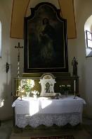 Oltář kaple Panny Marie