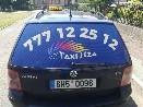 Nový polep na taxiku