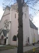 fasáda - husitský kostel Králíky