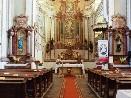 Interiér kostela sv. Jana Křtitele