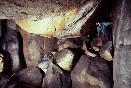 Bloková chodba z podzemního labyrintu Poseidon