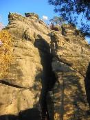 Teplické skály Střmen - zřícenin hradu