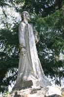 Socha mistra Jana Husa z roku 1921