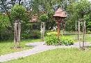 Park ve středu obce