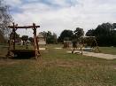 Dětské hřiště realizované za podpory Ústeckého kraje