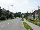 Hlavní ulice v obci