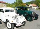 Průjezd historických vozidel