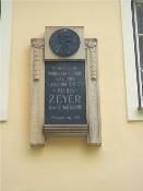 Pamětní deska Julius Zeyer