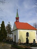 Kaple sv. Anny - na hřbitově