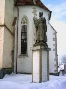 Pomník padlým z 1. sv. války u kostela