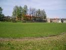Fotbalové hřiště a sportovní hala