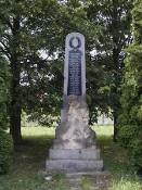 Pomník v Mlečicích