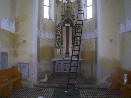 Novoveská kaple po vykradení