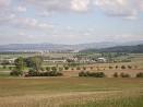 Pohled od Pelesova směrem na Opočno