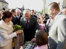 Opatovice nad Labem navštívil prezident republiky