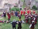 Dobývání hradu Pecka 2007