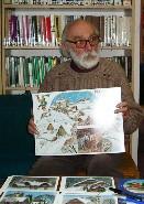Knihovna - na besedě s akademickým malířem Jiřím Škopkem z Jaroměře