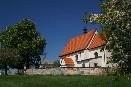 Poutní místo Boušín s kostelem Navštívení P. Marie