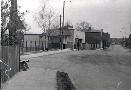 Historické foto-autobusová zastávka a obchod