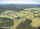 Letecký pohled na obec Šindelová