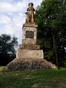 Pomník Jana Sladkého Koziny na Hrádku
