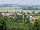 Pohled na Újezd z Hrádku