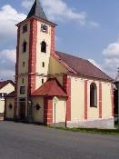 Kostel sv.Václava v Újezdě