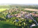 Letecký pohled Vysoké Popovice
