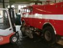 Výměna převodovky hasičského speciálu