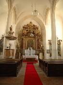 Kostel sv. Wolfganga - oltář