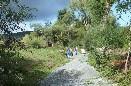 Závěrečné práce na rybníčku ve Starém Kramolíně