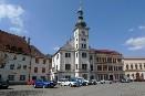 Městská radnice v raně barokním slohu