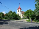"""Kostel """"Povýšení sv.Kříže"""" ve Zdibech"""