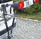Nosič na 2 jízdní kola sklopný