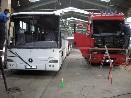 Montáž autoskel - bus a truck