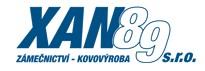 XAN 89-KOVOVÝROBA