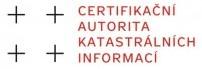 CERTIFIKAČNÍ AUTORITA KATASTRÁLNÍCH INFORMACÍ, s.r.o.
