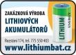 LITHIOVÉ AKUMULÁTORY-LITHIOVÉ BATERIE